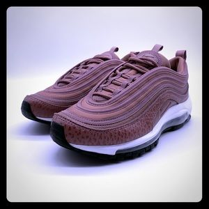 Nike Air Max 97 Leather Purple Smoke Mauve Shoes
